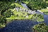 Ariel View of Ashford Castle