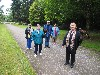 Kay McIntyre with Jackie, Karen, LouAnne & Jay, all flying Milly & Fomhar with us on their recent Hawk Walk.