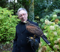 Here is Anthony Lane flying Inca during his recent Hawk Walk with us.